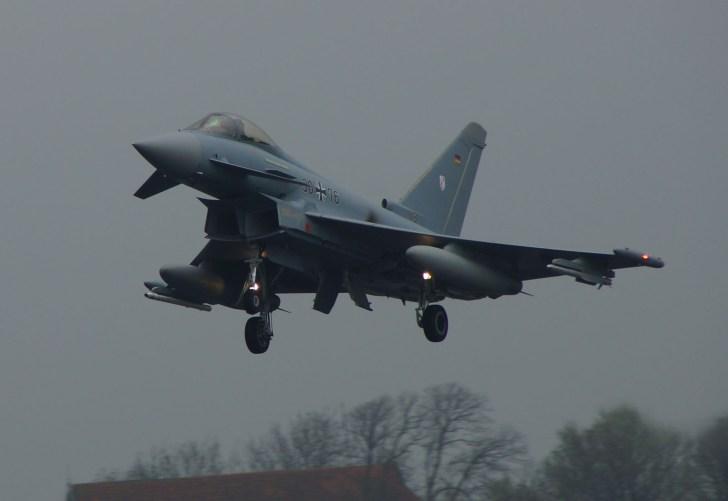Eurofighter EF2000 Typhoon 30+76 German Air Force
