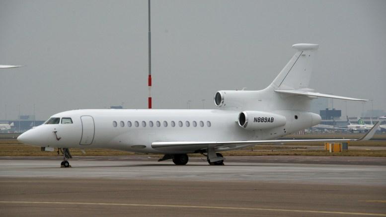 Dassault Falcon 7X N889AB Bank of Utah Trustee