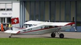 Pilatus PC-6B1-H2 Turbo Porter HB-FCF Swiss Air Force