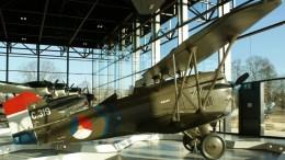 Aviolanda Curtiss P-6E Hawk I C.319 ML-KNIL