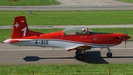Pilatus PC-7 A-912/1 PC-7 Team Swiss Air Force