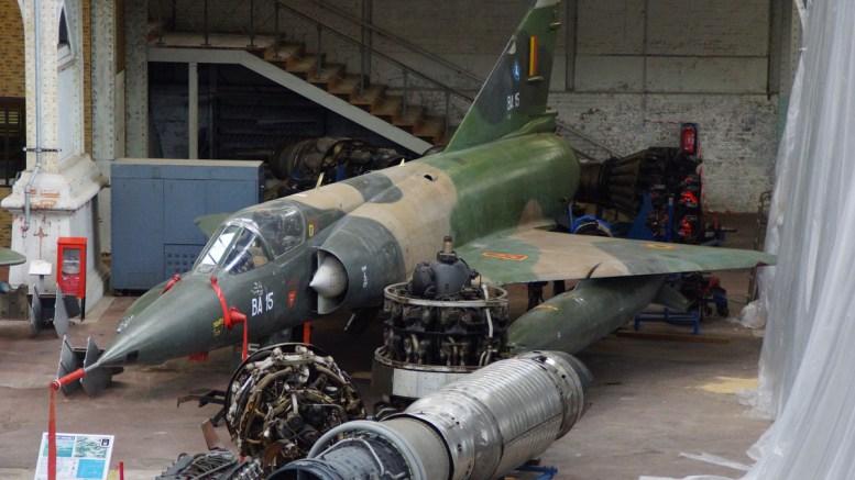 Dassault Mirage 5BA BA-15 Belgium Air Force