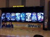 All the movie titles in Hangul. Can make for a rather confusing time.