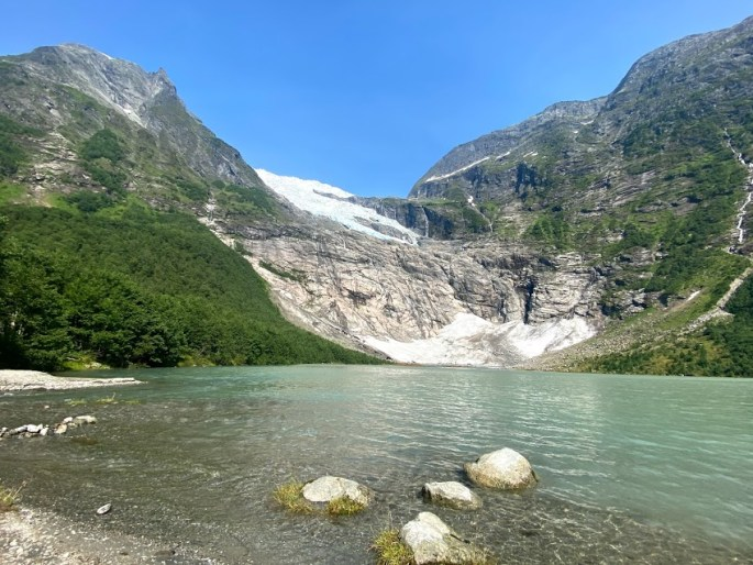 Bøyabreen glacier in Norway