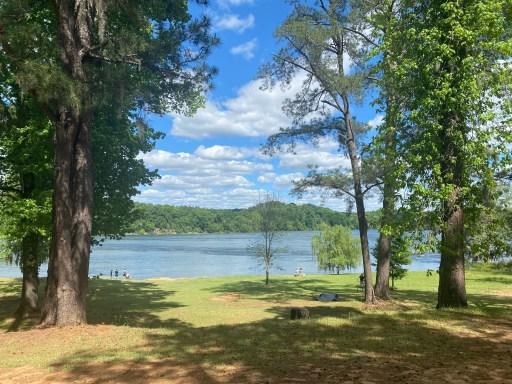 Savannah River in the garden city of Augusta ga