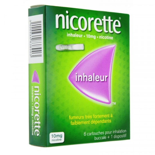 Les inhalateurs de nicotine.