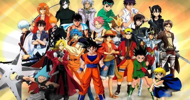 Eventail des styles de mangas