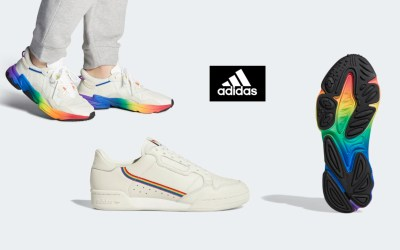 Adidas releases pride trainers (for men) and t-shirts for women