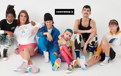 Converse Pride by you shoes to show your pride