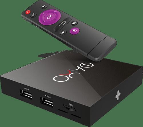 OXY ONE SMART TV BOX