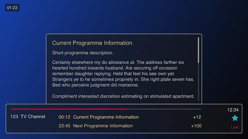 Abonnement Smart IPTV  pour Samsung/LG