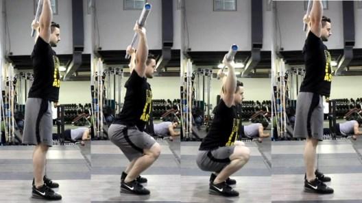 Overhead Squat mobility