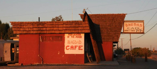 Road Trip USA: bagdad cafe