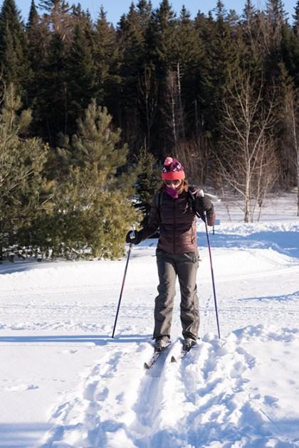 Hiver Montreal : Ski de fond
