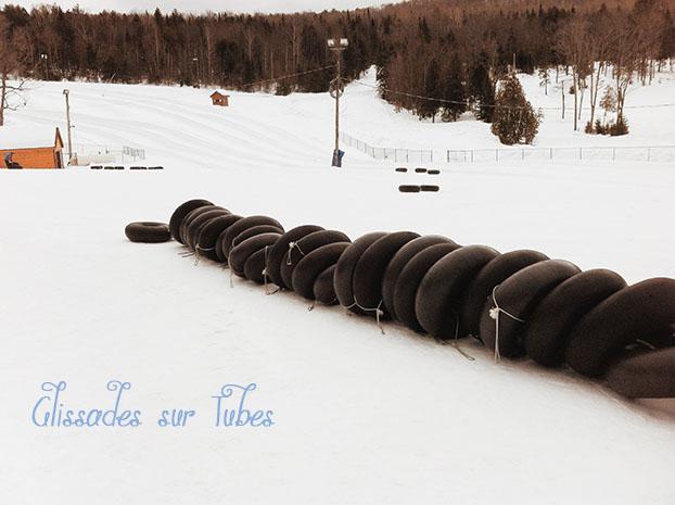Hiver Montreal : Glissades sur Tubes