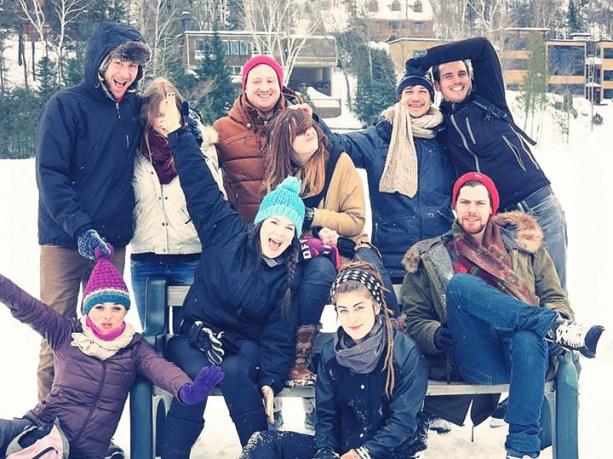 Voyageurs au Canada