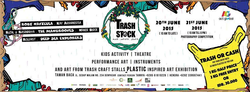 TrashStock : Art et musique contre le plastique !