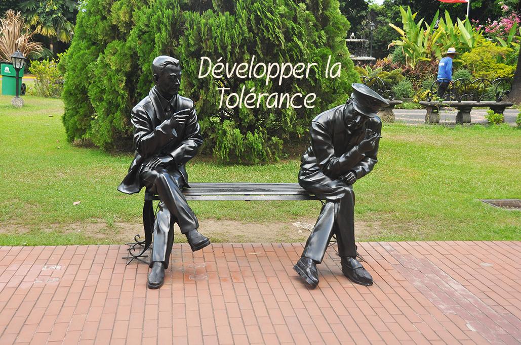 Read more about the article Développer la tolérance