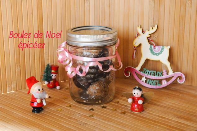 {Recette} Boules de Noël épicées