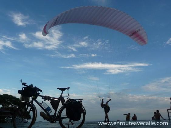 En route avec aile : Le Tour du Monde Zéro Carbone d'Olivier