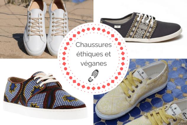 Enfin des chaussures éthiques … et véganes !