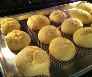 Receita de Pão de Queijo de Tapioca