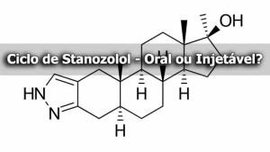 Ciclo de Stanozolol - Oral ou Injetável?