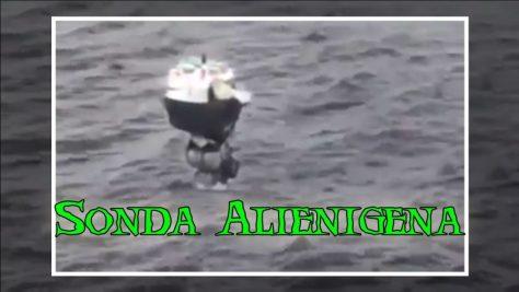¿Sonda Alienígena Analizando el Agua del Mar?