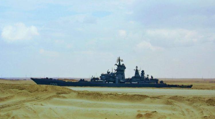 Los Barcos que Navegan por el Desierto