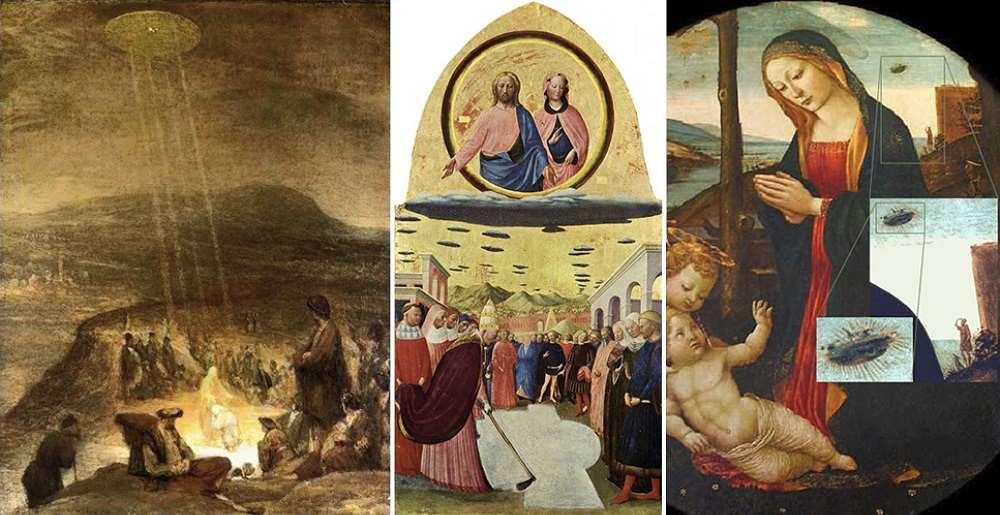 ¿Estas pinturas antiguas cuentan con la última evidencia del astronauta antiguo?