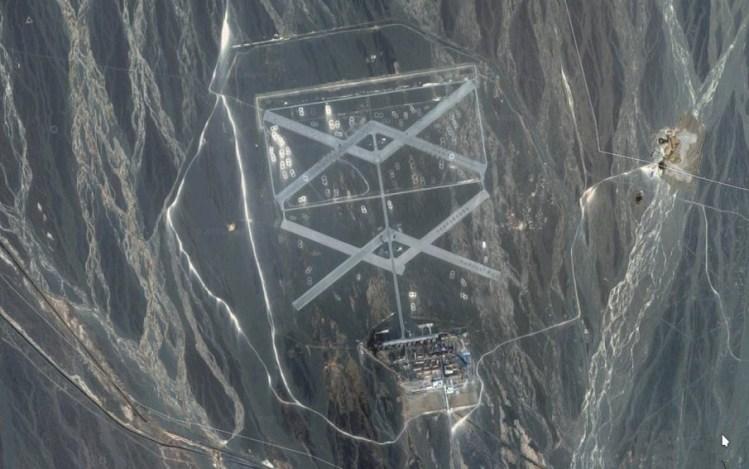 ¿Estas imágenes satelitales revelan el área 51 de China?