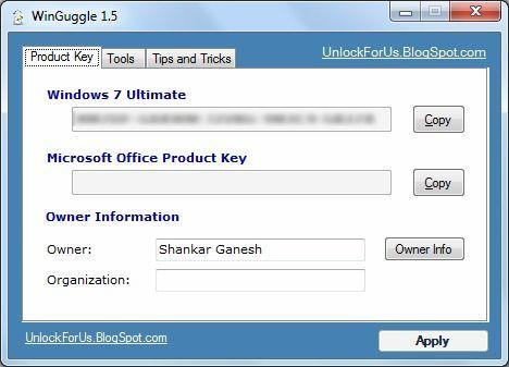 Ver y recuperar la clave de producto de Windows 7