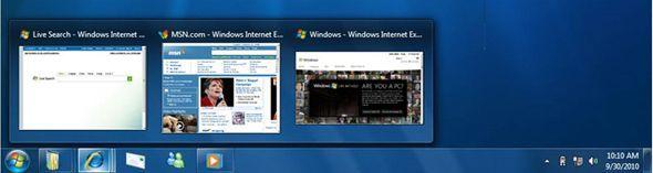 Barra tareas Windows 7