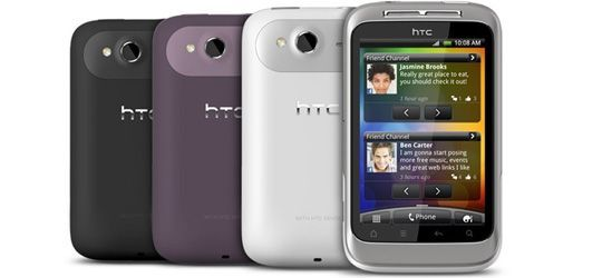 HTC Wildfires S
