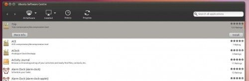 Accesorios Centro de Software Ubuntu