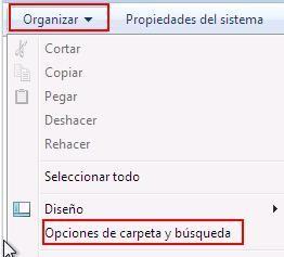 Archivos Ocultos Windows 7