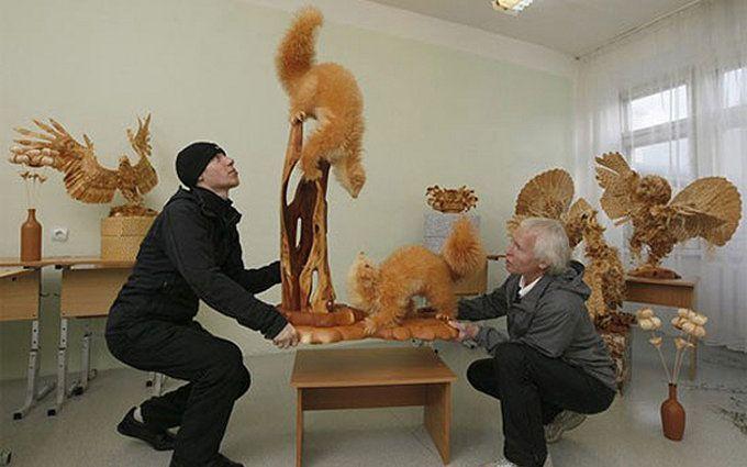 Animales de madera