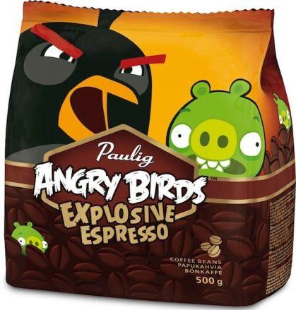 Explosive Espresso el café de Angry Birds