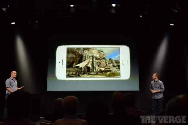 Infinity Blade 1 & 2 para demostrar la potencia del iPhone 5S