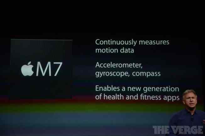 Procesador dedicado para las medidas de los sensores en el iPhone 5S