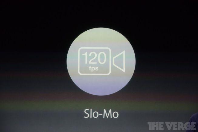 Modo SLO-MO a 120 fps y 720p
