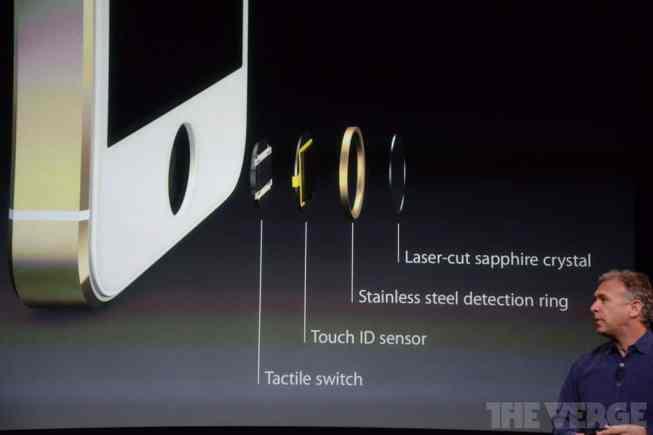 Funcionamiento del TouchID