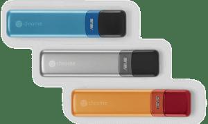 Diseño del prototipo Asus Chromebit