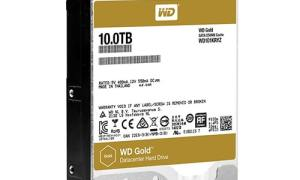 WD Gold 10TB HDD