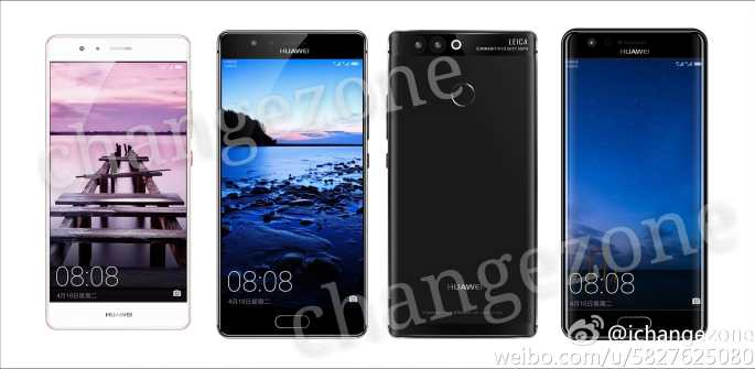 Rumores Huawei P10: renders