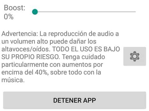 Aumentar el volumen del smartphone
