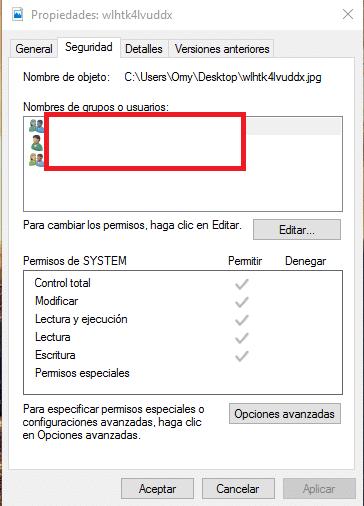 Bloquear archivo