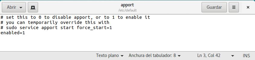 Quitar los mensajes de fallo de Ubuntu
