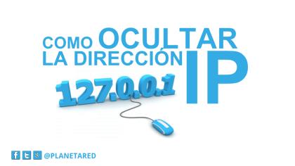 OCULTAR DIRECCION IP