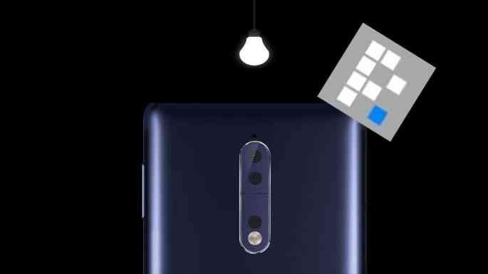 maqueta del Nokia 8